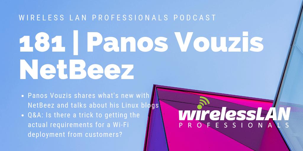 181 | Panos Vouzis of NetBeez