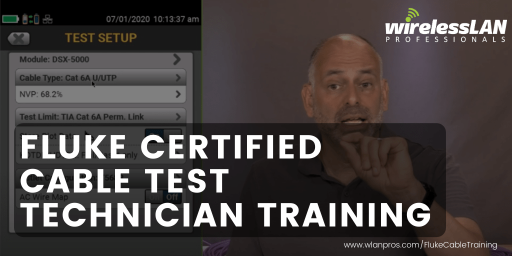 Fluke Certified Cable Test Technician Training