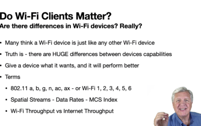 Do Wi-Fi Clients Really Matter?