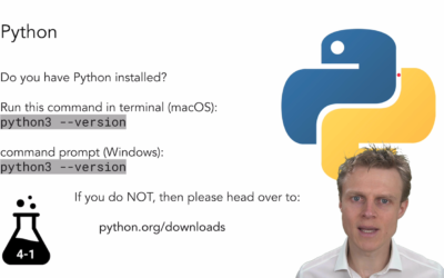 A Quick Intro To Python with Nick Turner