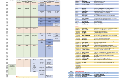 WLPC Agenda Schedule 2018, 2019, 2020