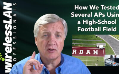 How We Tested Several APs Using a High-School Football Field