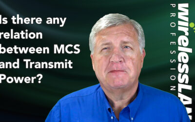 Is there any relation between MCS and Transmit Power?