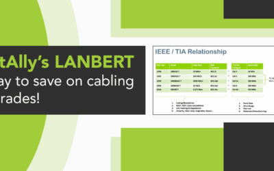 NetAlly's LANBERT – a way to save on cabling upgrades!