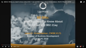 60GHZ What you need to know about 802 11ad and 802 11ay Jason Hintersteiner