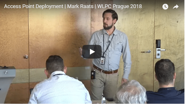Access Point Deployment | Mark Raats | WLPC Prague 2018