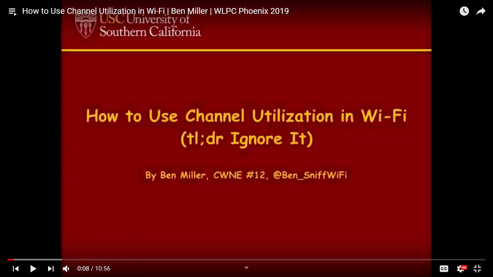 How to Use Channel Utilization in Wi-Fi | Ben Miller | WLPC