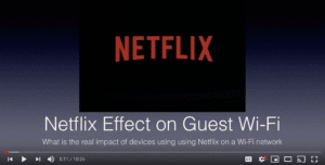 The Netflix Effect on Guest WiFi Jim Palmer WLPC 2019