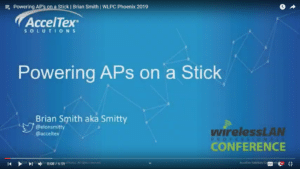 Powering APs on a Stick Brian Smith WLPC 2019