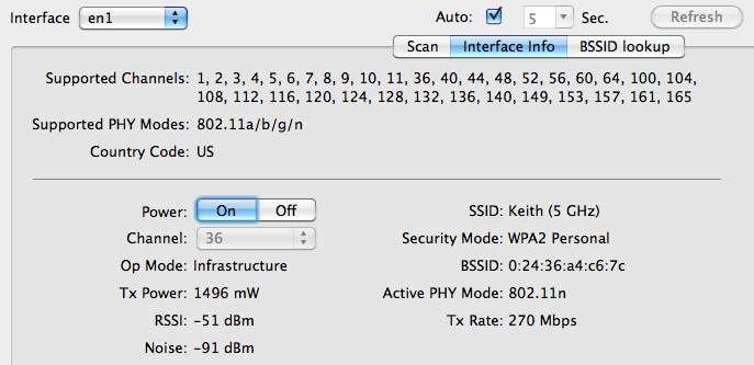 WiFi Scanners for Mac OS X | Wireless LAN Professionals