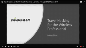 Travel Hacking for the Wireless Professional Jonathan Finney WLPC 2019