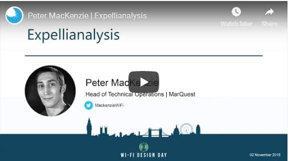Wi-Fi Design Day London 2018 | Peter MacKenzie | Expellianalysis