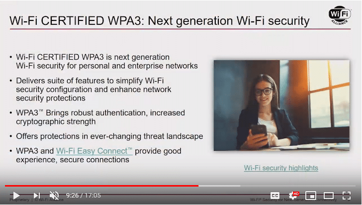 Wi-Fi Security for Next Gen Connectivity | Perry Correll | WLPC Prague 2018