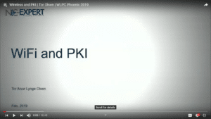 Wireless and PKI Tor Olsen WLPC 2019