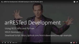 arRESTed Development Mitchell Davenport WLPC 2019