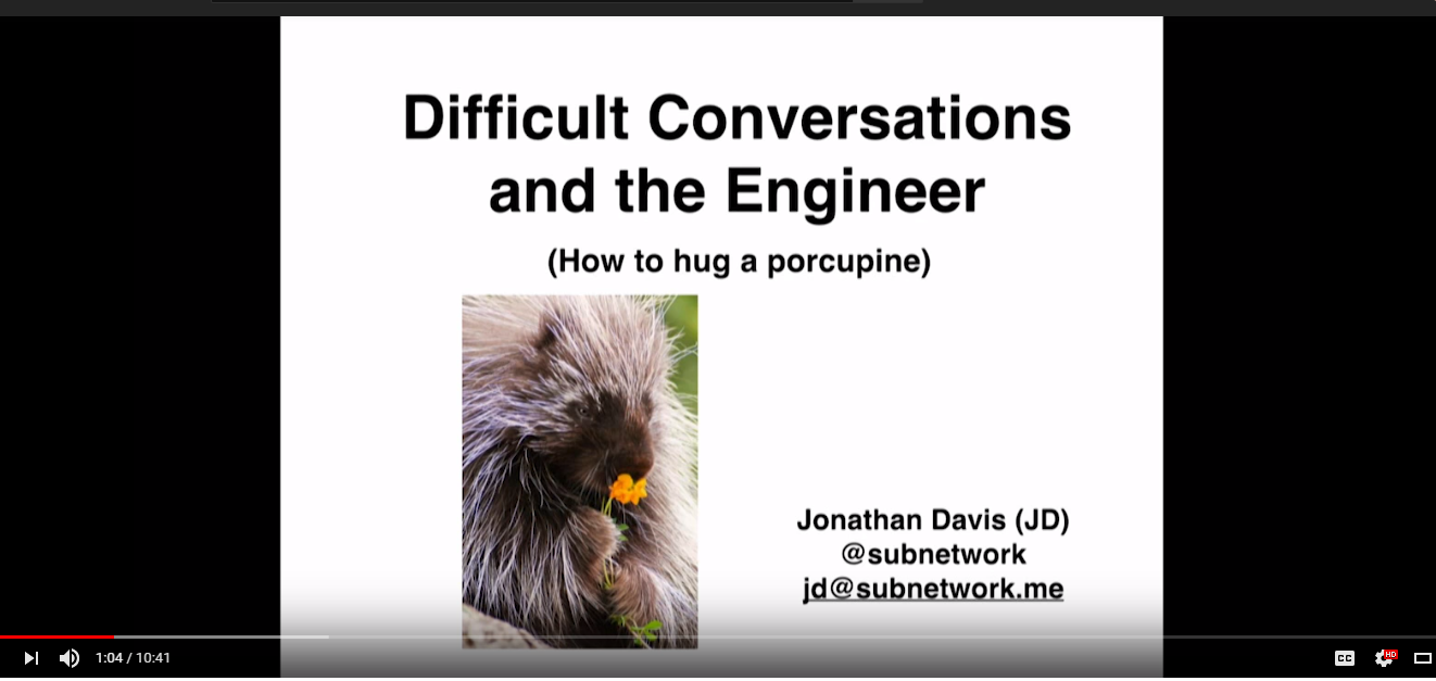 Difficult Conversations and the Engineer with Jonathan Davis